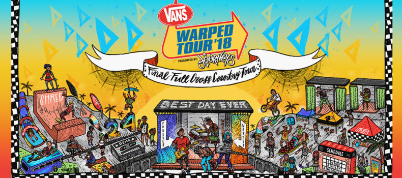 Listen to Win Vans Warped Tour Tickets