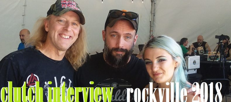 Welcome to Rockville 2018: Interview with Clutch