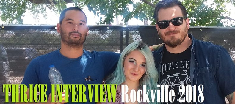 Welcome to Rockville 2018: Interview with Thrice