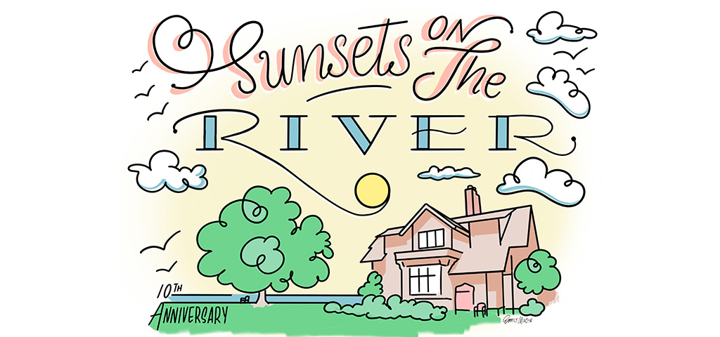 Sunsets on the River: JESSE CHONG
