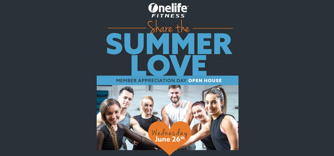 Share the Summer Love Member Appreciate Open House