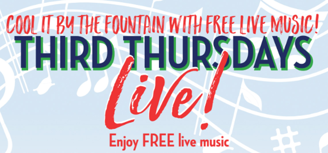 Third Thursdays Live: Anthony Rosano & the Conqueroos