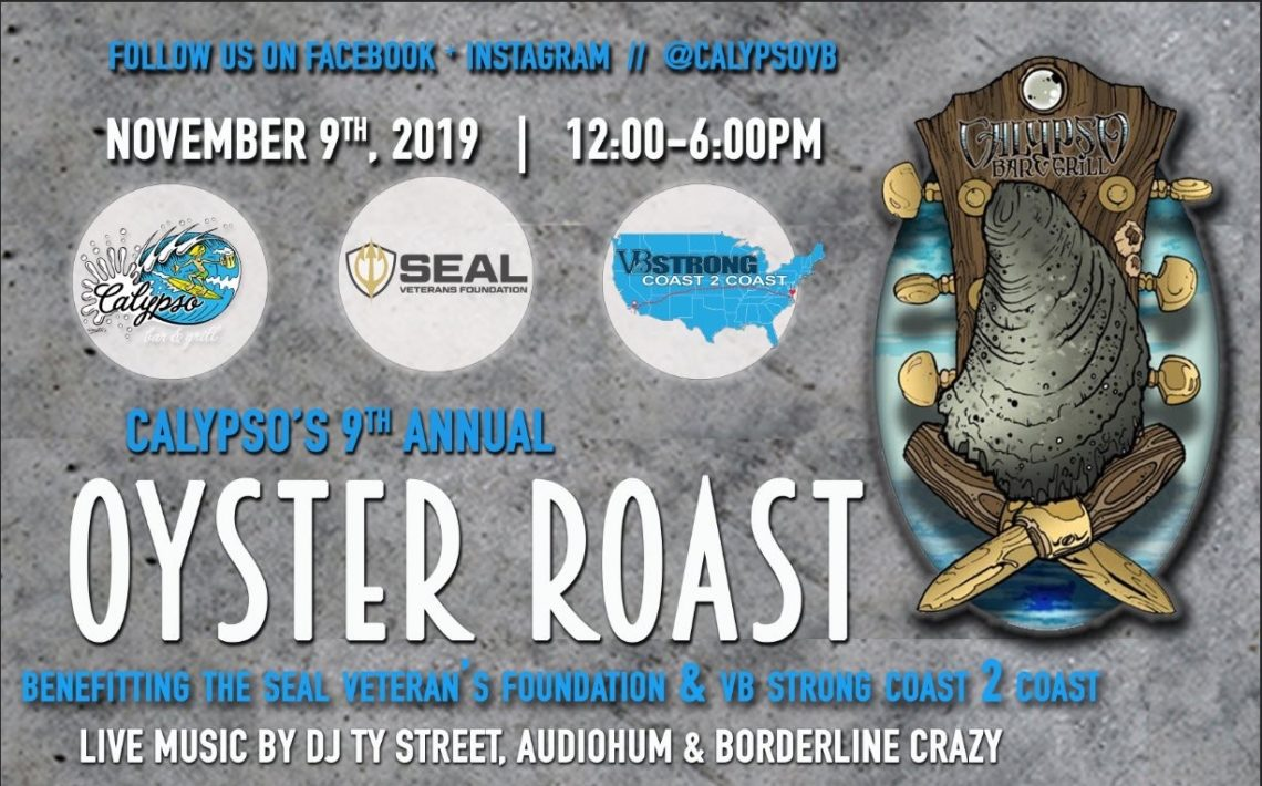 Calypso's 9th Annual Oyster Roast