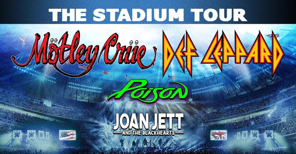 Mötley Crüe & Def Leppard w/ Poison and Joan Jett & The Blackhearts