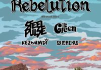 Rebelution w/ Steel Pulse, The Green, Keznamdi, and DJ Mackle