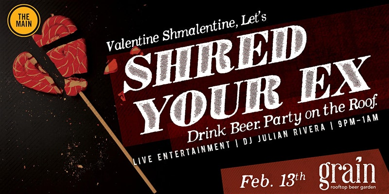 Shred Your Ex Anti-Valentine's Day Bash