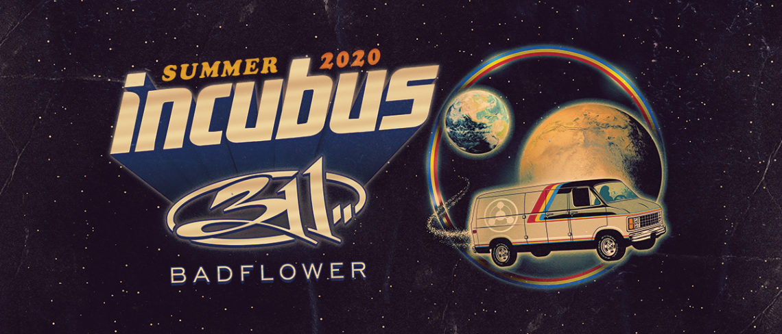96X presents Incubus with 311 & Badflower