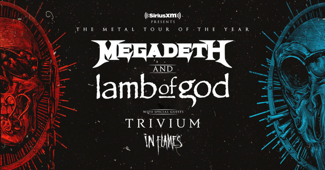 The Metal Tour of the Year: Megadeth and Lamb of God with Trivium and In Flames