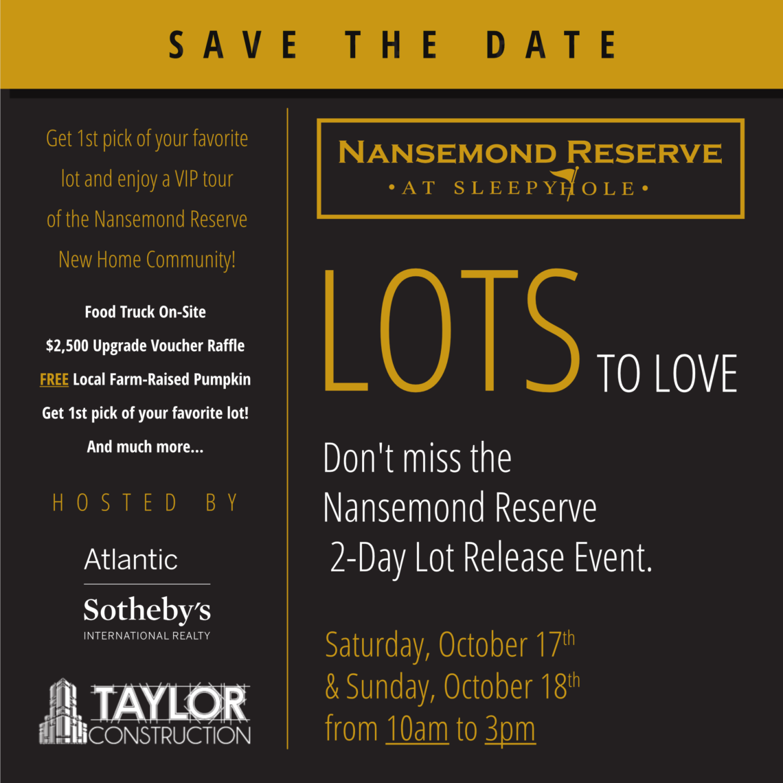 Nansemond Reserve Open House