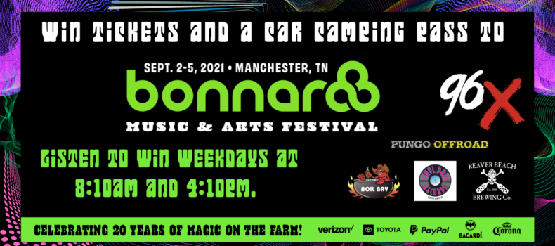 Win Tickets to Bonnaroo!