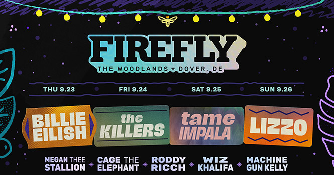 Win tickets to Firefly Music Festival 2021
