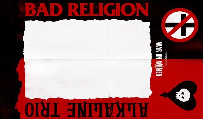Bad Religion + Alkaline Trio