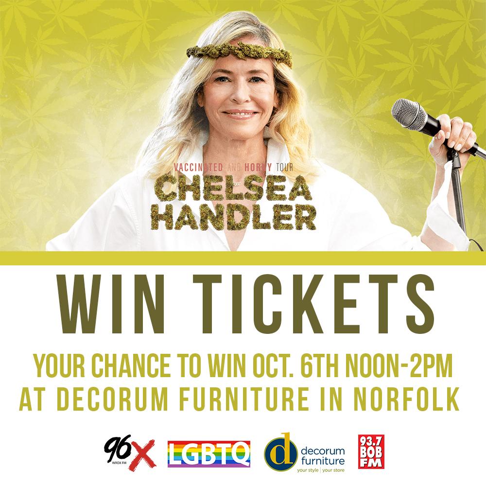 Chelsea Handler Ticket Giveaway Event